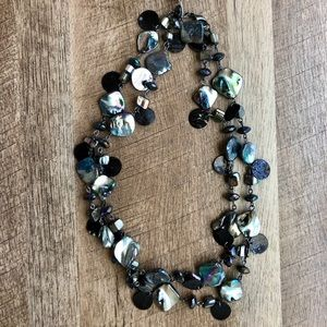 Style & Co Long Shell Necklace